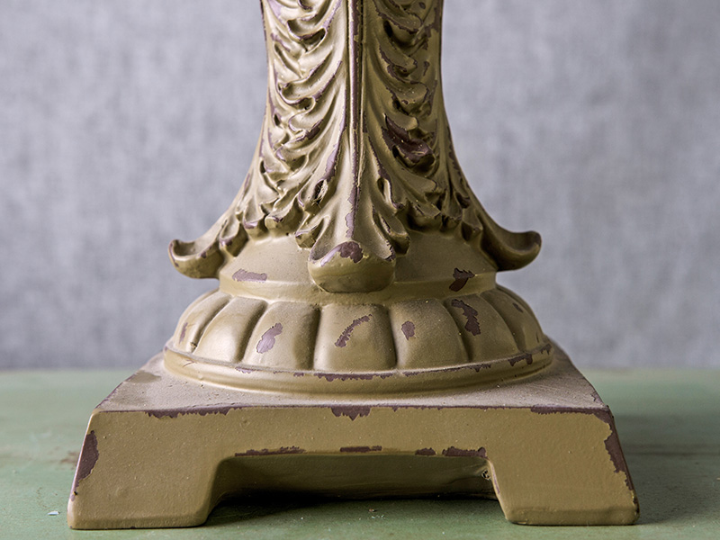 base patterns of the resin finials